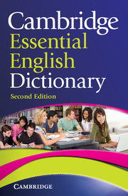 Cambridge Essential Dictionary cover