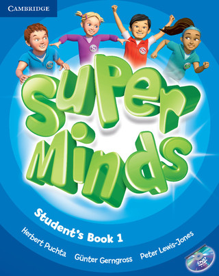 Super Minds 1 cover